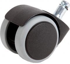 Bureaustoelwielen 50mm - Zacht Loopvlak